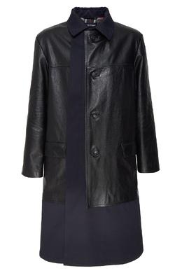 Черное многослойное пальто Balenciaga Man 2673106950