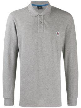 Ps by Paul Smith рубашка-поло с длинными рукавами M2R410SAZEBRA72