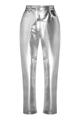Джинсы серебристого цвета Fendi 1632180767