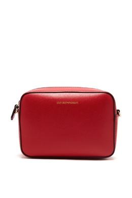 Красная сумка на молнии Emporio Armani 2706184027