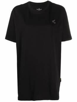 Vivienne Westwood Anglomania футболка с нашивкой-логотипом 3701002720987GON401
