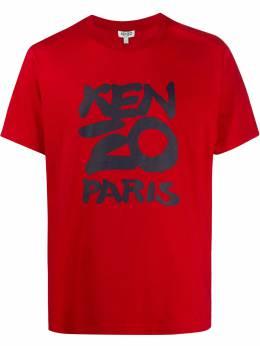 Kenzo футболка с логотипом FA55TS0184SA