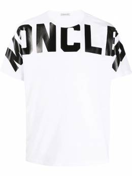 Moncler logo print T-shirt F10918C704108390T