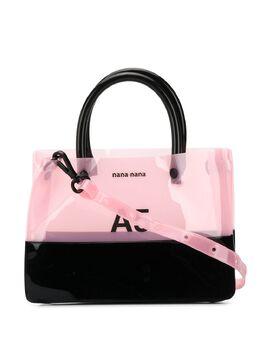 Nana-Nana сумка-тоут A5 со вставками NA061