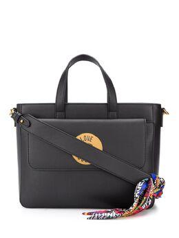 Love Moschino большая сумка-тоут с логотипом JC4048PP1ALGUNI