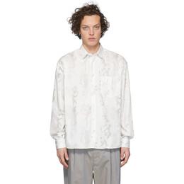 Jacquemus White La Chemise Simon Shirt #205SH01-205 2417Z