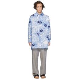 Jacquemus Blue La Chemise Paul Shirt 205SH20-205 2134E