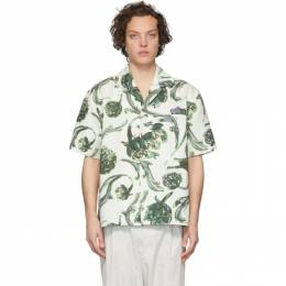 Jacquemus White La Chemise Jean Short Sleeve Shirt 205SH21-205 2653S