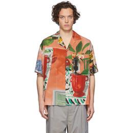 Jacquemus Multicolor La Chemise Jean Short Sleeve Shirt 205SH21-205 1905W