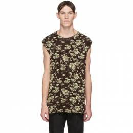 Jil Sander Brown Knit Wool Vest JSMQ752011_MQY21148