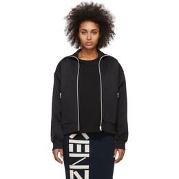 Kenzo Black Logo Sports Tech Track Jacket F962BL756950