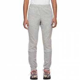 Adidas Originals Grey Outline Sport Lounge Pants FM3916