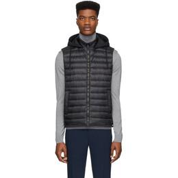 Herno Black Down Classic Vest PI0613U 12017