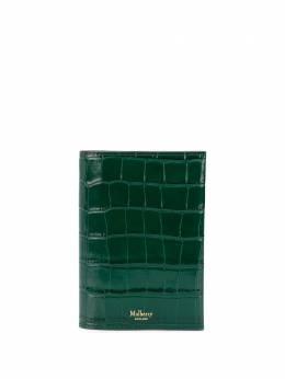 Mulberry обложка на паспорт с тиснением под кожу крокодила RL6136059R101