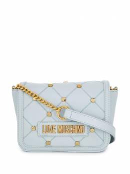 Love Moschino сумка через плечо с заклепками и логотипом JC4099PP1ALPUNI