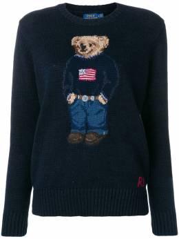 Polo Ralph Lauren свитер-поло с принтом 211698558