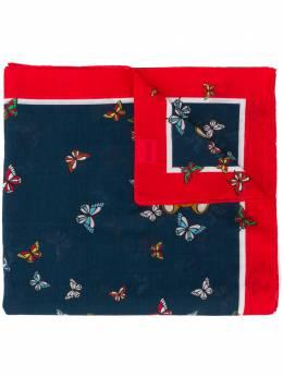 Moschino платок с принтом Butterflies and Teddy Bear 03154M2215