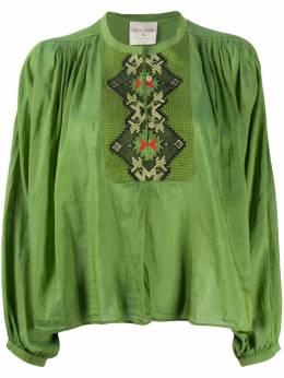 Forte_Forte рубашка на пуговицах с вышивкой 7082MYSHIRT