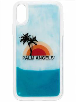 Palm Angels sunset print iPhone XS case PMPA008S207920160188