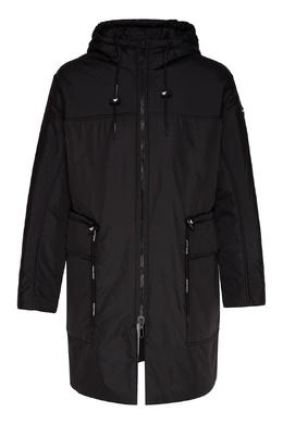 Удлиненная куртка с капюшоном Emporio Armani 2706184050