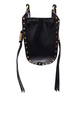 Черная кожаная сумка Radji Isabel Marant 140183595