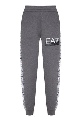 Серые спортивные брюки Emporio Armani 2706184032