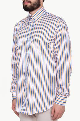 Рубашка в цветную полоску Paul & Shark 2321183800