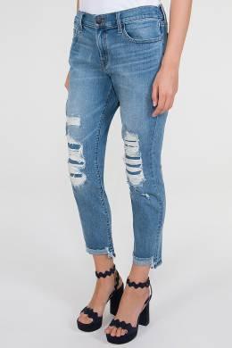 Синие джинсы с потертостями J Brand 141184078