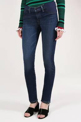 Синие джинсы скинни J Brand 141184120