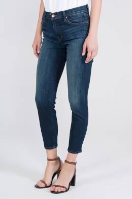 Укороченные синие джинсы J Brand 141184079