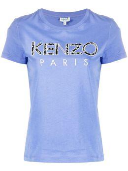 Kenzo футболка с принтом Ikat FA52TS701990