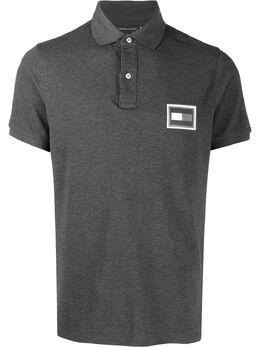 Tommy Hilfiger рубашка-поло с нашивкой-логотипом MW0MW12247P9X