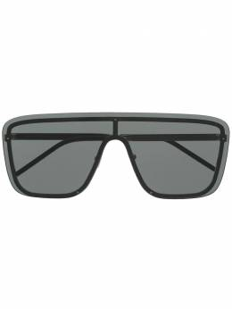 Saint Laurent Eyewear солнцезащитные очки-маска New Wave SL 1 610923Y9902