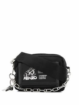 Kenzo сумка через плечо с цепочкой и логотипом FA55SF218FP4