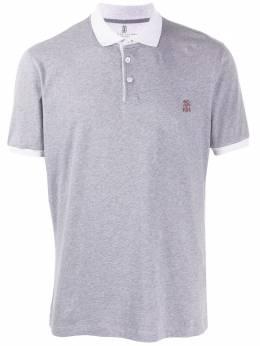 Brunello Cucinelli contrast collar polo shirt M0T618357GCU263