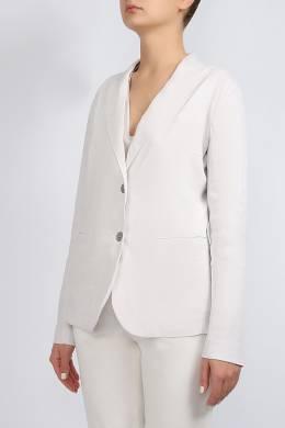 Белый пиджак на пуговицах Lorena Antoniazzi 2136183462
