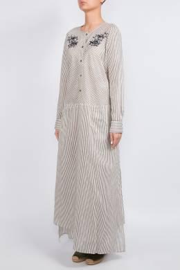 Полосатое платье в пол Lorena Antoniazzi 2136183472