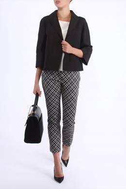 Черный пиджак прямого кроя Prada 40183355