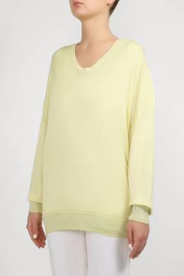 Бледно–желтый трикотажный джемпер Lorena Antoniazzi 2136183461
