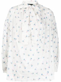 Vivienne Westwood Anglomania блузка Garret с цветочным принтом 15020035111311