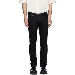 Han Kjobenhavn Black Lean-Fit Jeans M-90066-10