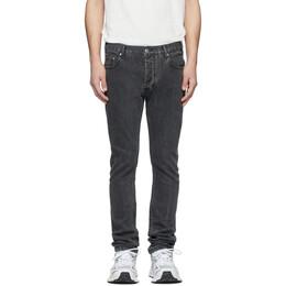 Han Kjobenhavn Black Stonewash Lean-Fit Jeans M-90066-12