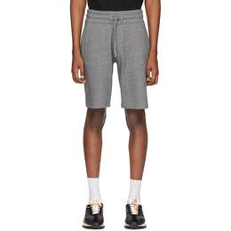 Kenzo Grey Logo Shorts F755PA7254MD