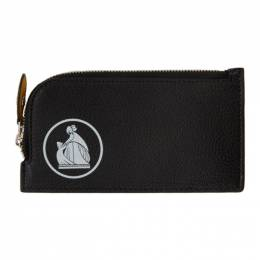 Lanvin Black Zipped Wallet LW-SLUP04-BRET-P20