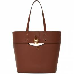 Chloe Brown Medium Aby Tote CHC20SS223C44