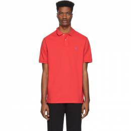 Polo Ralph Lauren Red Mesh Iconic Polo 710534735205