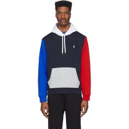 Polo Ralph Lauren Navy Double-Knit Tech Hoodie 710781439001