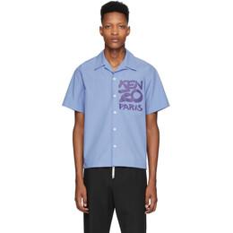 Kenzo Purple Paris Shirt FA55CH5291NC