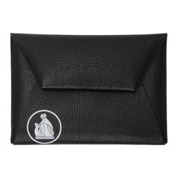 Lanvin Black Logo Envelope Bag LW-SLUP03-BRET-P20