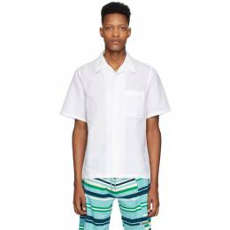 Kenzo White Linen Shirt FA55CH5291LG